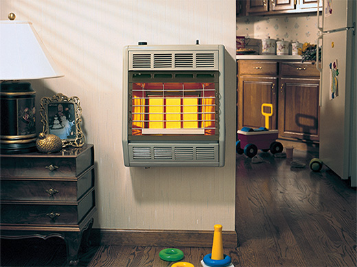 Infrared heaters empire heating systems for Room heating systems